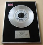 BLONDIE - ATOMIC PLATINUM Single Presentation DISC